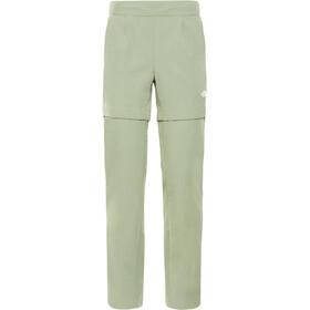 The North Face Inlux Spodnie z odpinanymi nogawkami Kobiety, four leaf clover